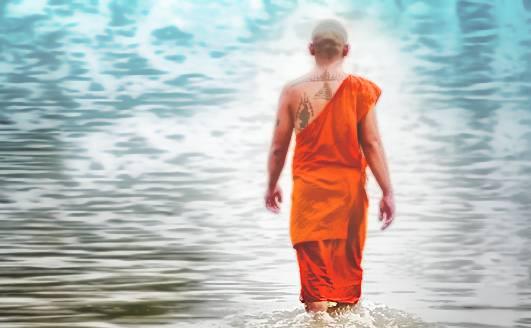 Странный монах дал мне способности в осознанном сне.