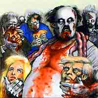 каннибализм, некрофагия