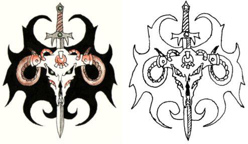 Татуировка делается только на левом
